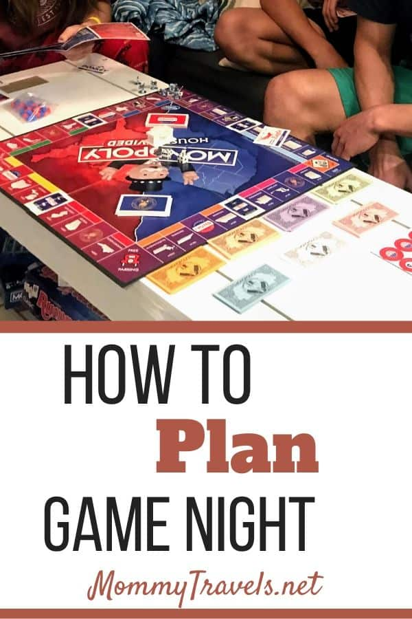 How to plan game night