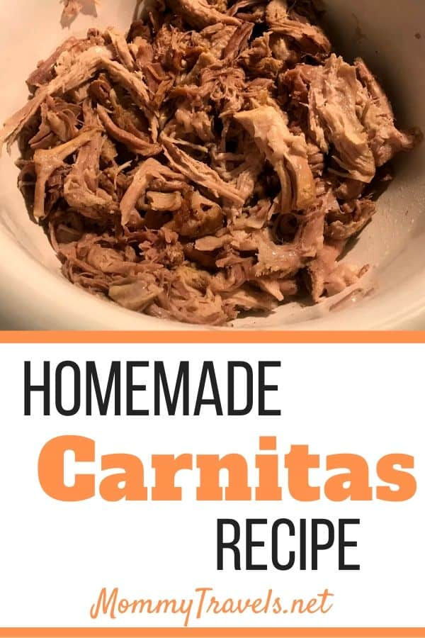 Homemade Carnitas Recipe