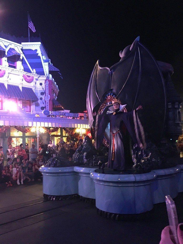 Mickey's Not So Scary Halloween Party parade