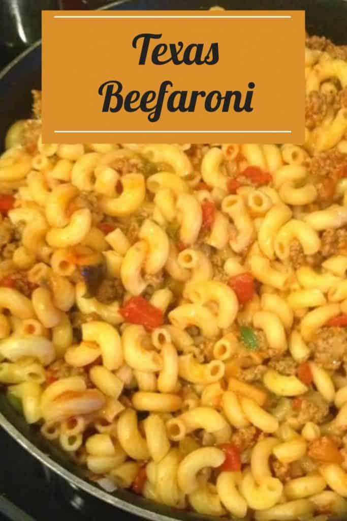 Texas Beefaroni Recipe