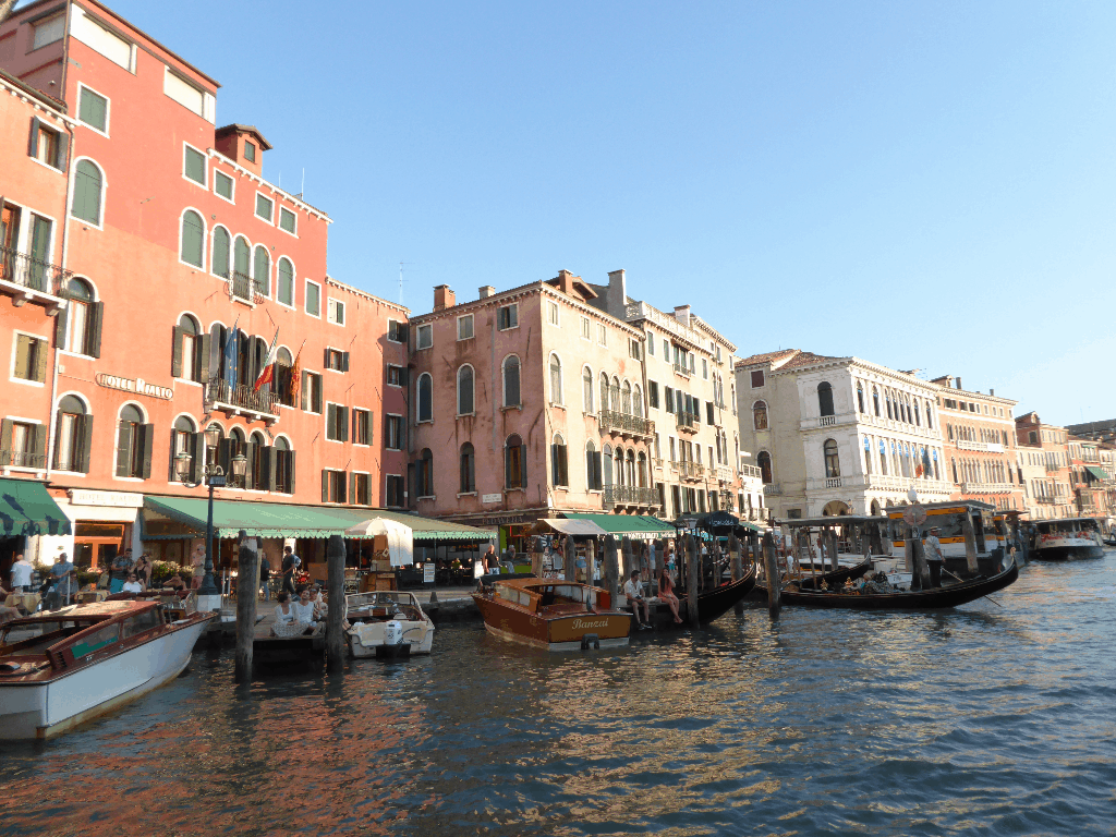 Things to do in Venice Italy - Grand Canal