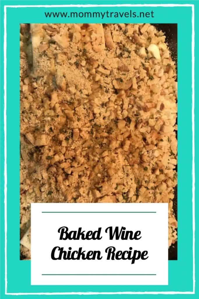 Baked Wine Chicken Casserole Recipe