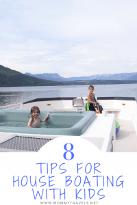 8 Tips for House Boating with Kids
