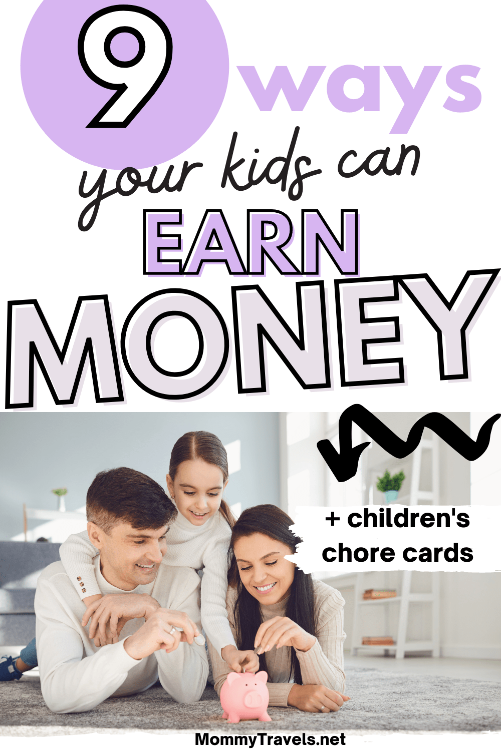 9 Ways your kids can earn money