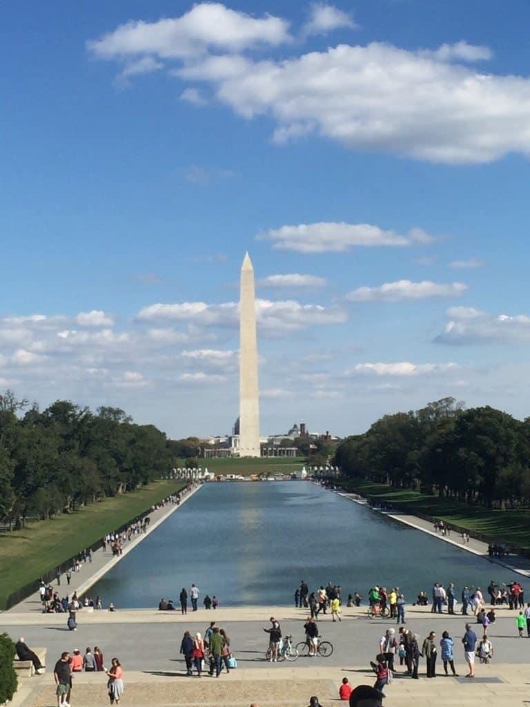 George Washington monument in DC
