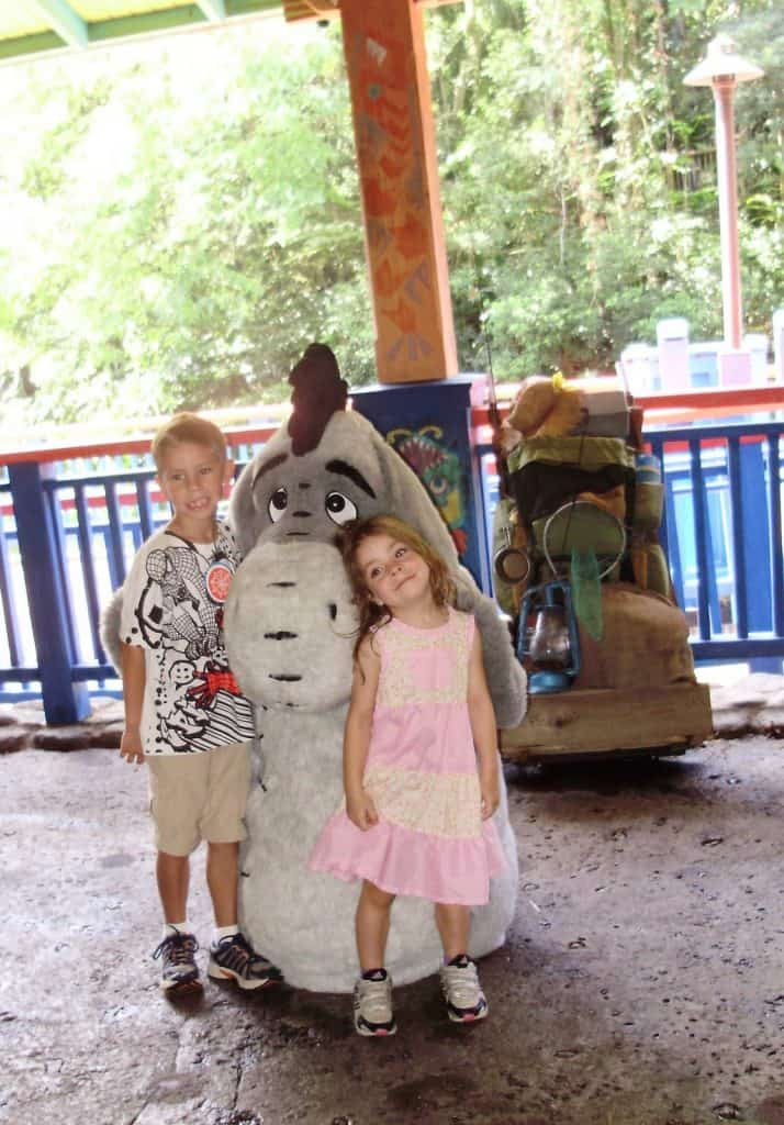 The best place to meet Tiger, Pooh, and Eeyore at Disney World