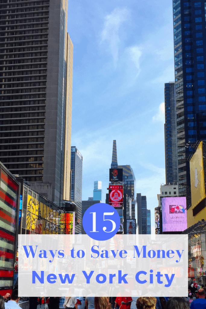 15 Ways to Save Money in New York City