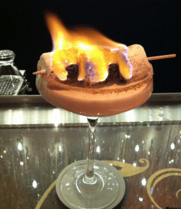 campfire's delight martini