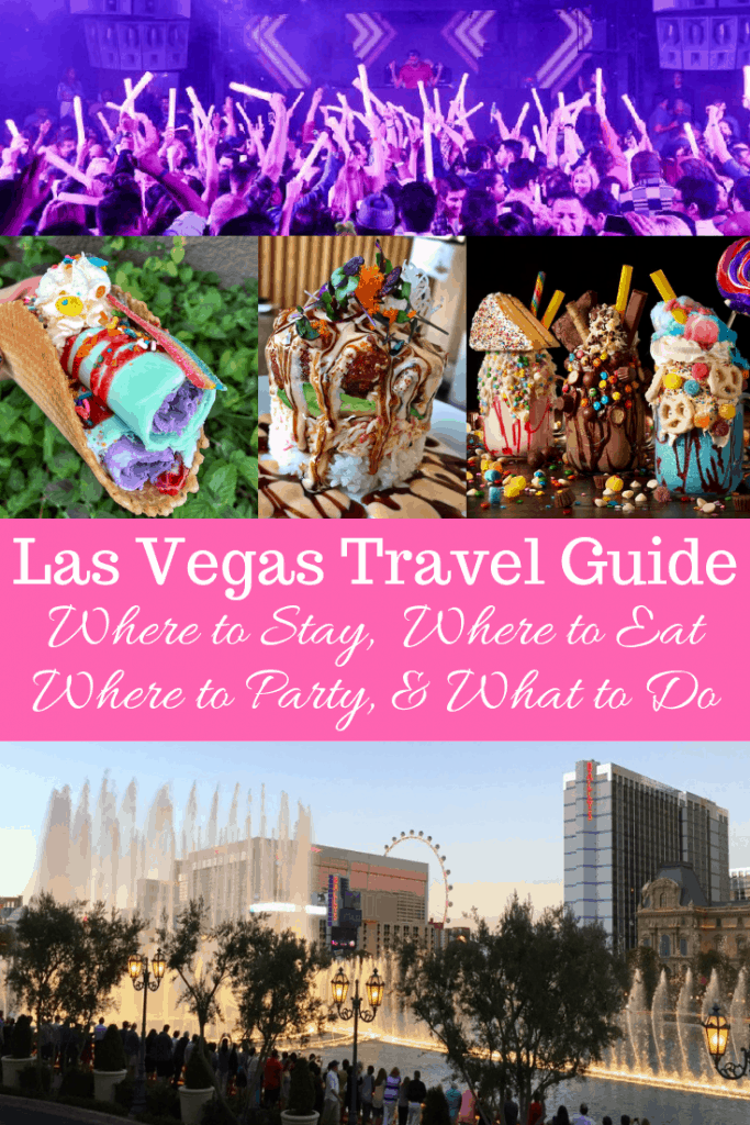 Las Vegas Travel Guide: Everything you need to know for a super successful trip to Las Vegas