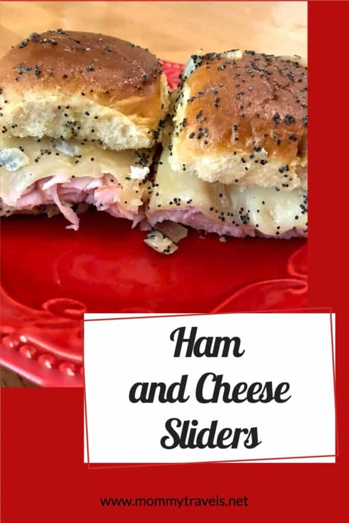 How to make Ham and Cheese sliders using Hawaiian rolls