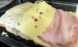 Hawaiian rolls ham and cheese sliders