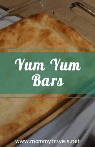 Yum Yum Bars