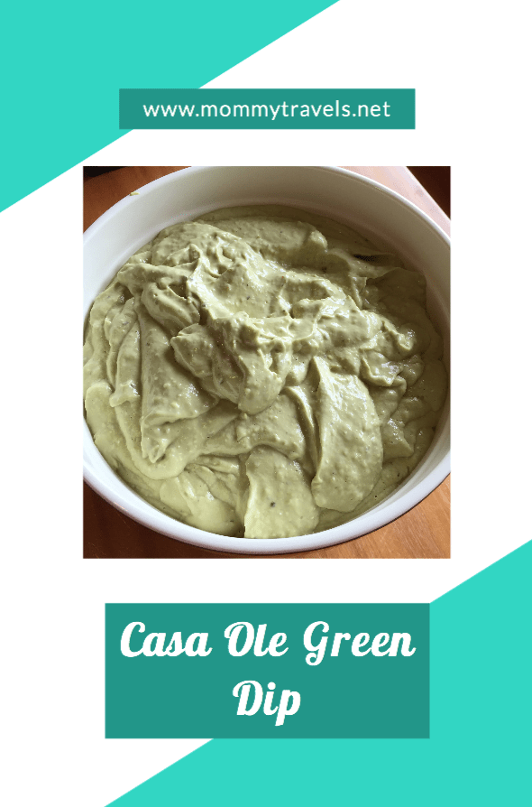 Casa Ole Green Dip Recipe