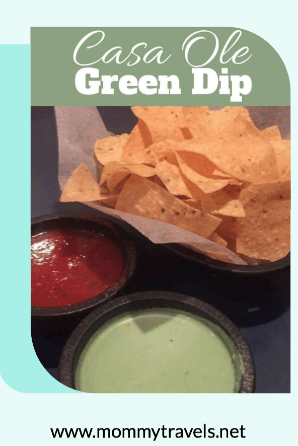 Casa Ole Green Dip Copycat Recipe