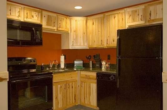 Hope Lake Lodge suite with full kitchen