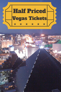 Get half off tickets in las vegas