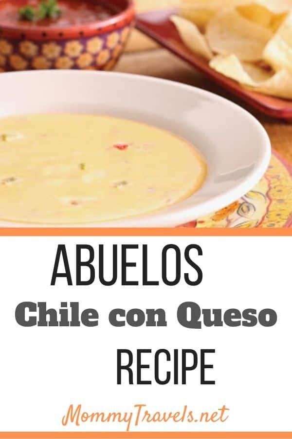 Abuelo's Chile con Queso recipe