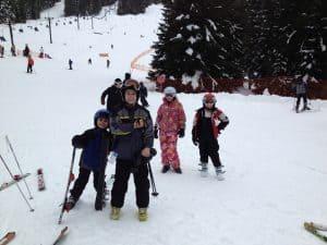 Skiing at SkiBowl