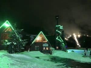 Cosmic Tubing at Skibowl Mt. Hood