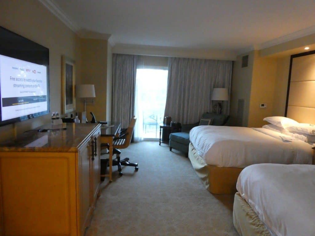Ritz Carlton Orlando double room