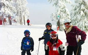 Mt. Hood Skibowl is a great place for families to ski.