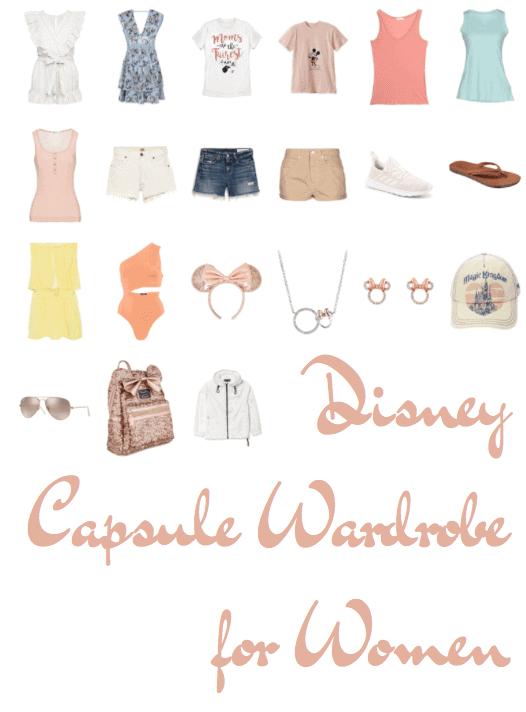 Disney Capsule Wardrobe for Women