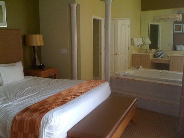 Summer Bay Resort master bedroom