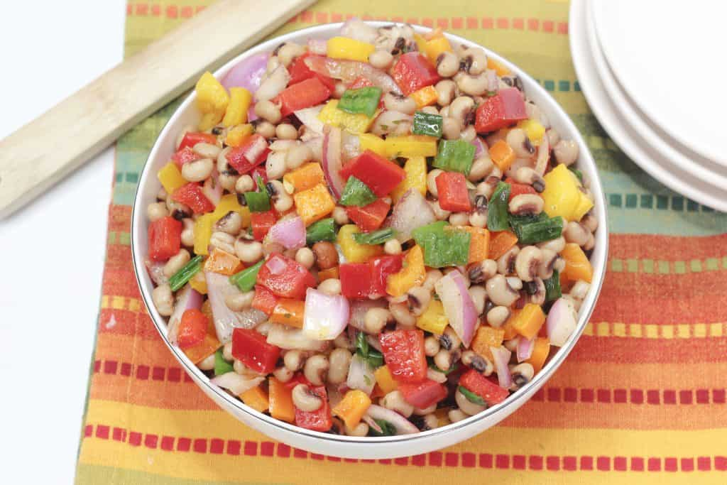 Black Eyed Pea Salad aka Texas Caviar