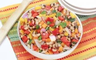 Texas Caviar aka Black Eyed Pea Salad