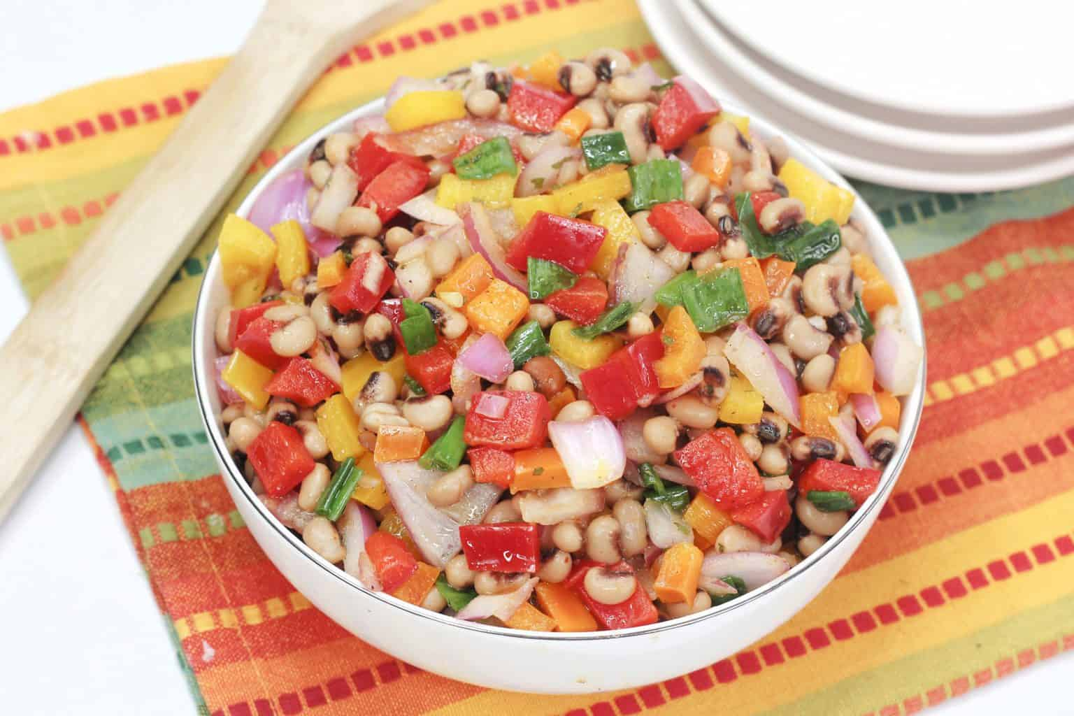 Texas Caviar aka Black Eyed Pea Salad