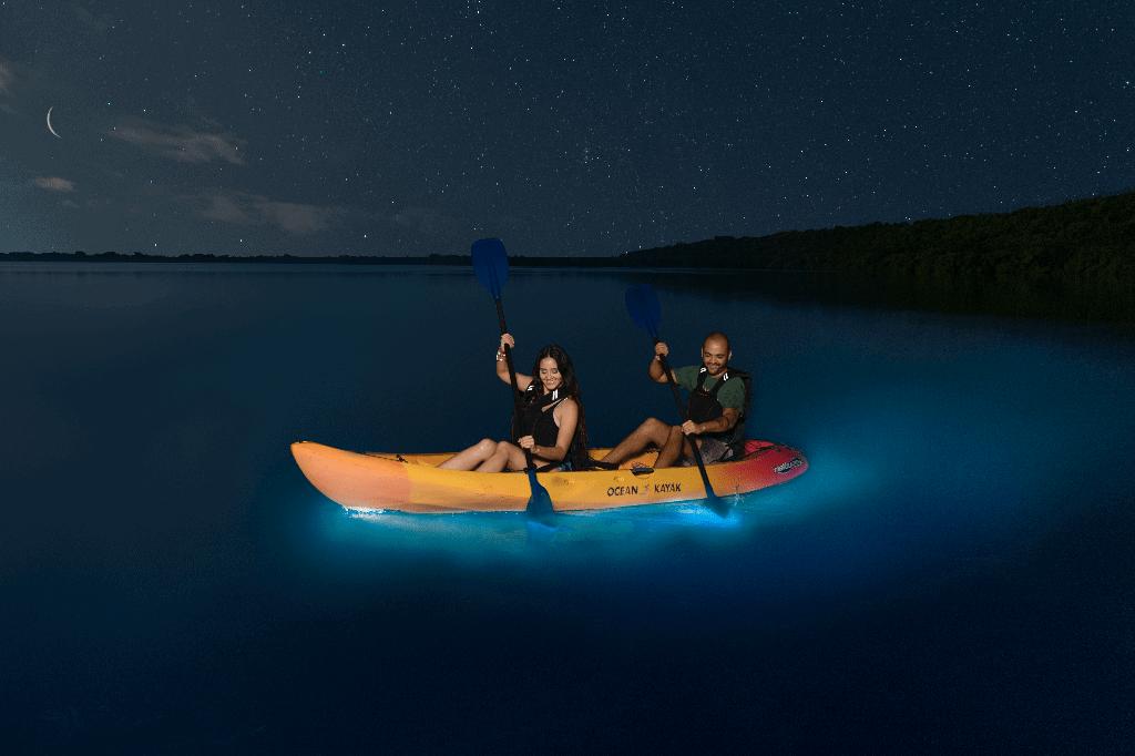 Kayaking in Bioluminescent Bay -photo b Discover Puerto Rico