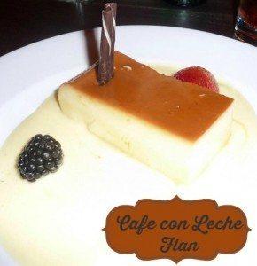 flan at Disney World one of the best desserts at Disney World
