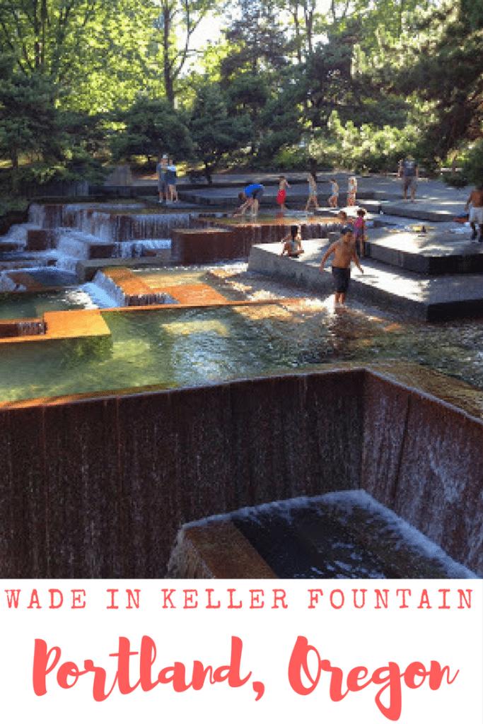 Go swimming in Keller Fountain in Portland, Oregon