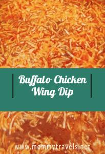Buffalo Chicken Wing Dip Recipe
