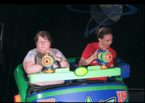 Buzzlight year ride