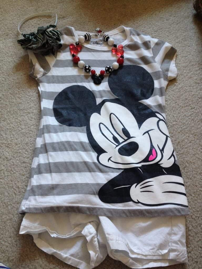 outfit for Disney