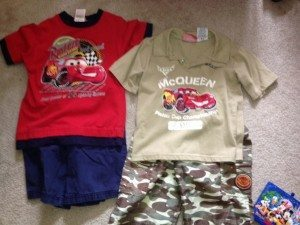 Disney outfits for boys
