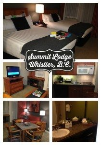 Summit Lodge in Whistler, Canada is an ideal place for families to stay