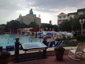 Boardwalk Resort Pool at Disney World