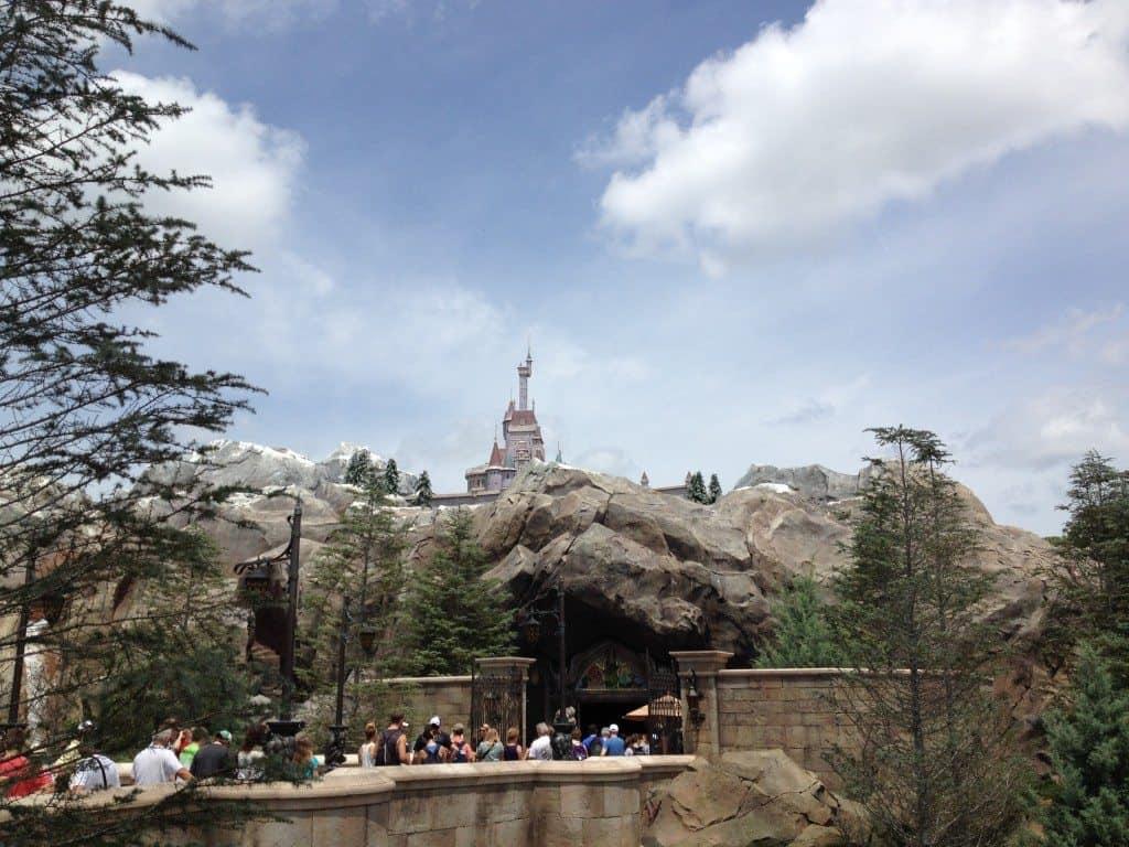 Beast's Castle at the Magic Kingdom