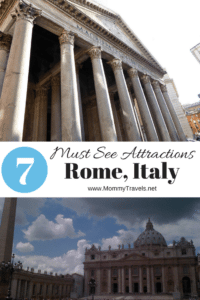 7 Must see attractions in Rome, Italy