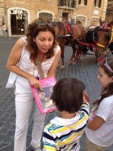 Taking a tour in Rome with kids