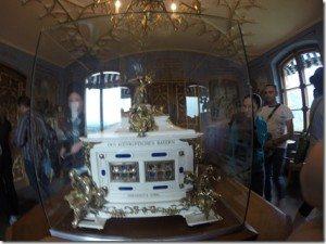 Inside Hohenschwangau Castle