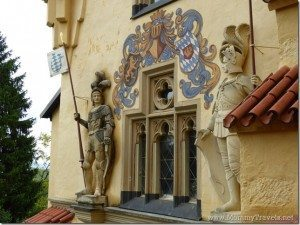 Hohenschwangau Castle with kids