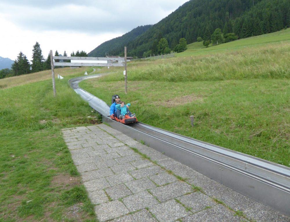 Sommerrodelbahn am Skistadion Garmisch-Partenkirchen