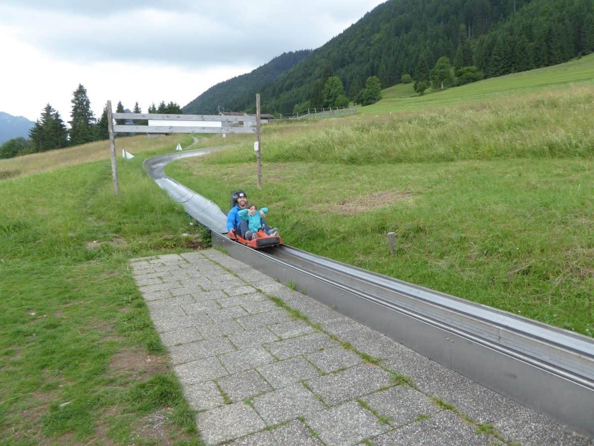 Sommerrodelbahn am Skistadion
