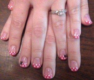Disney Shellac Manicure
