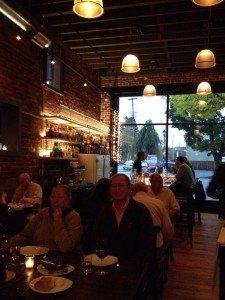 Ox restaurant in Portland