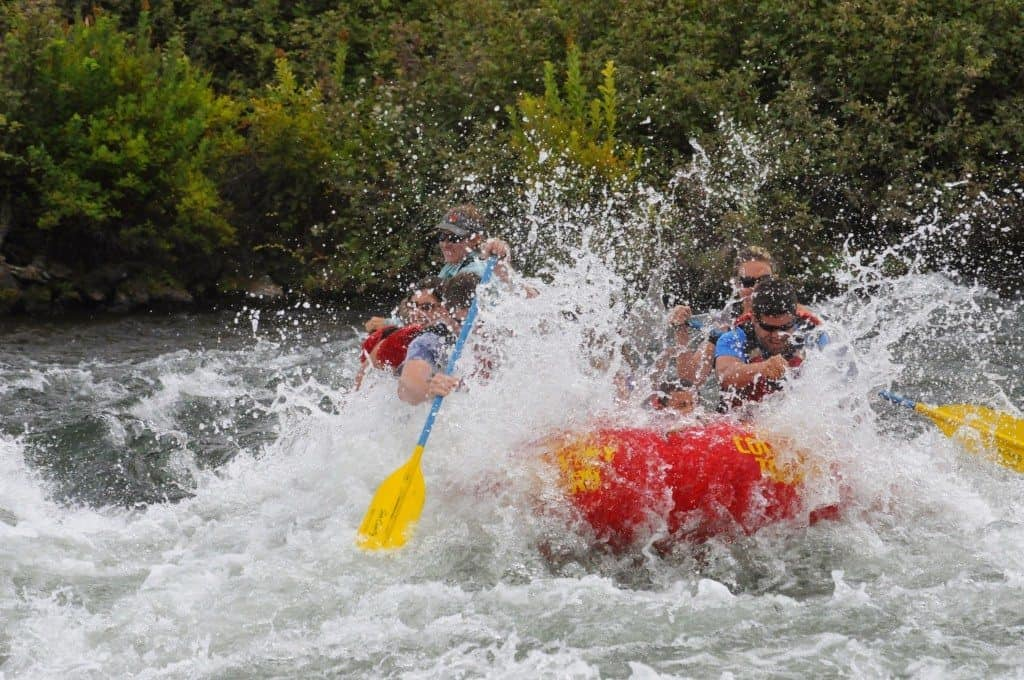 What to wear whitewater rafting