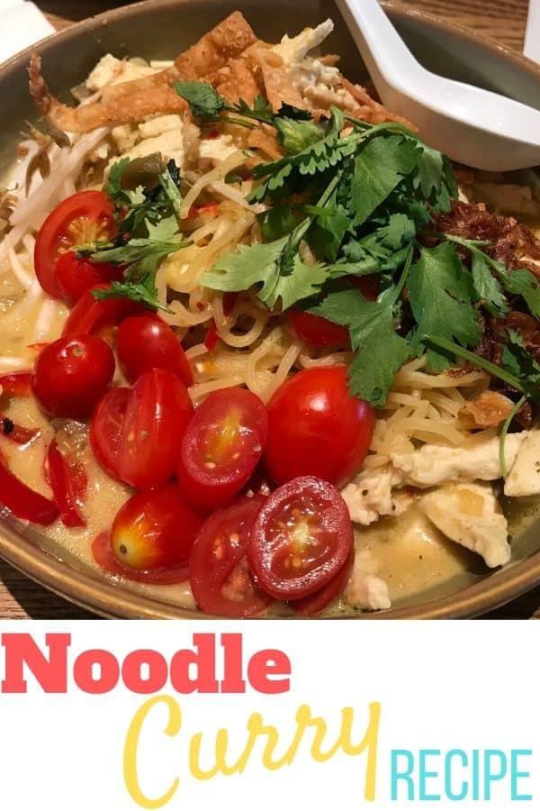 Noodle Curry Recipe